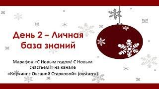 День 2 - Личная база знаний - Марафон «С Новым годом! С Новым счастьем»