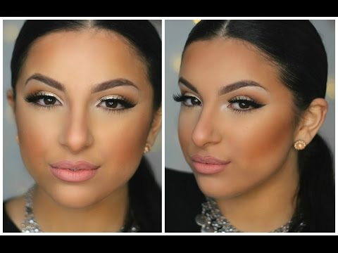 Neutral Glam Makeup Tutorial | Makeup By Leyla