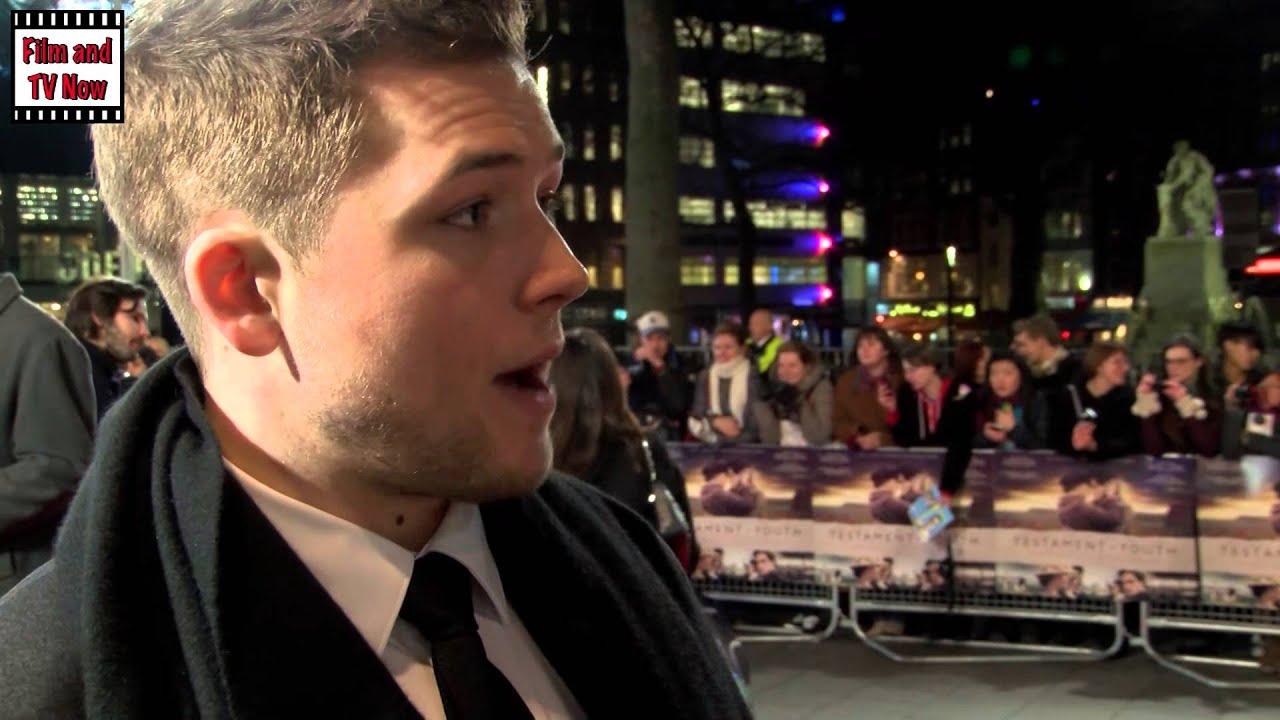 Kingsman The Secret Service Interview: Taron Egerton Interview At The Testament Of Youth Premiere