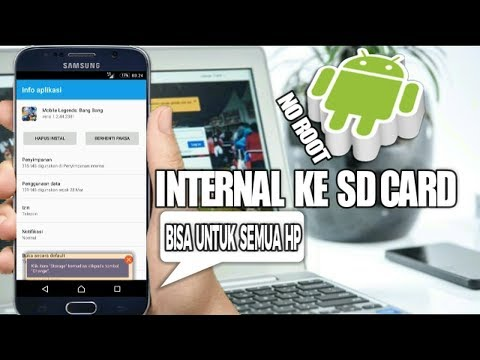 Cara Memindahkan Aplikasi Dari memori internal ke SD CARD Tanpa root