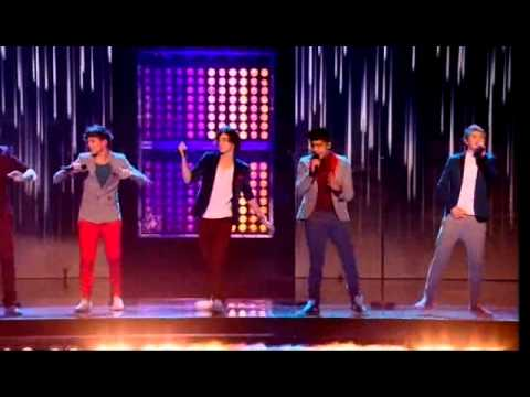 One Direction - Gotta Be You - The X Factor UK 2011 (Live Results Show 6)
