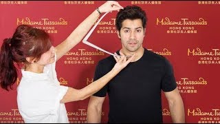 Varun dhawan becomes the youngest bollywood star to get waxed at madame tussauds! | spotboye