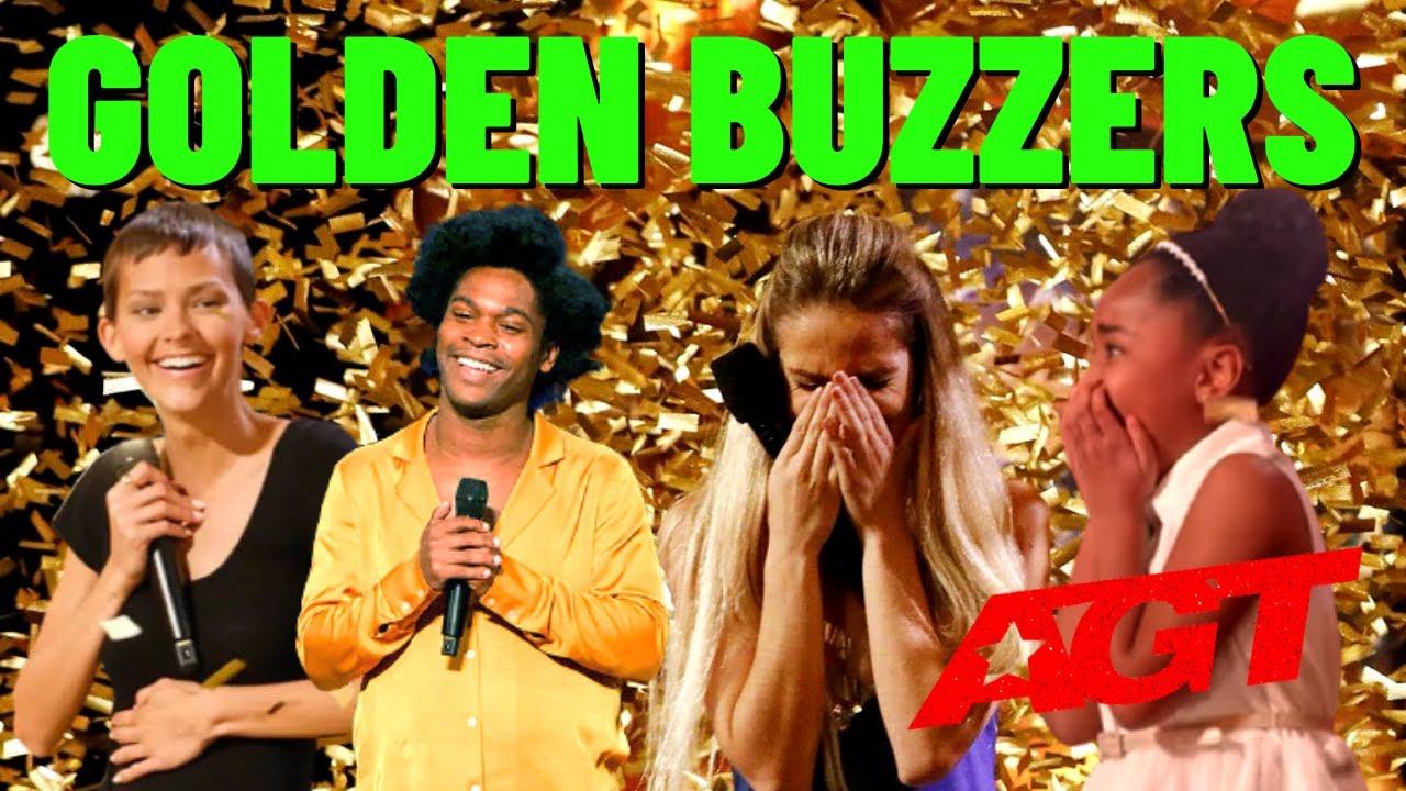 America's Got Talent - EVERY Golden Buzzer 2021