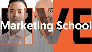 Marketing School Live with Neil Patel and Eric Siu