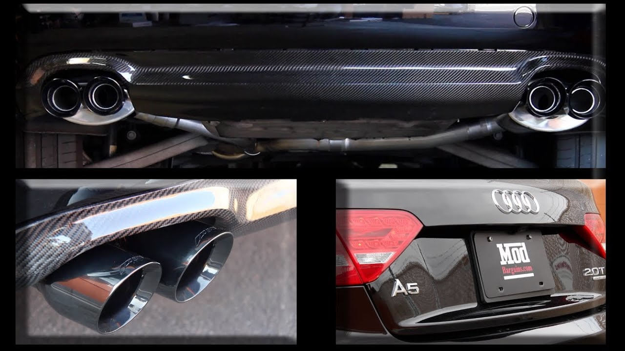 Awe Tuning Performance Exhaust Install On 2010 Audi A5 At