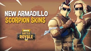NEW Armadillo & Scorpion Skins!! - Fortnite Battle Royale Gameplay - Ninja & TimTheTatman
