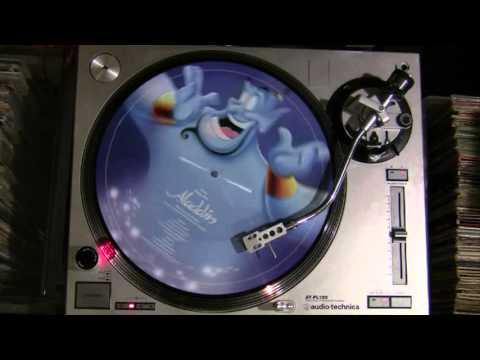 Peabo Bryson & Regina Belle - A Whole New World (Aladdin's Theme) (Picture Disc Vinyl Cut)
