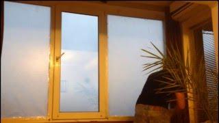 Утепление окон изнутри. Warming of windows inside(, 2016-01-08T20:35:47.000Z)