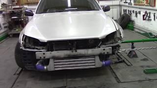 Тойота для настоящих пацанов.#2 Body repair after an accident.