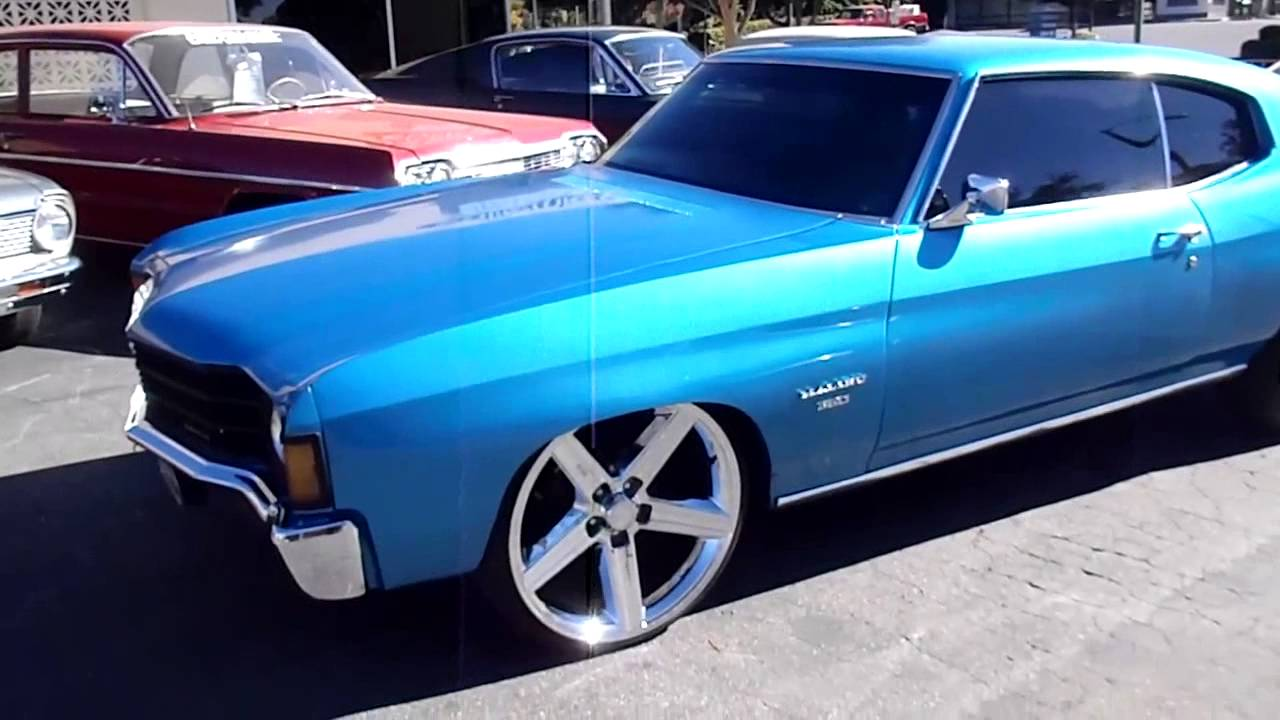 1972 Chevrolet Malibu - YouTube