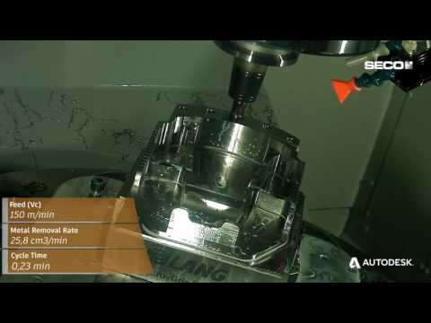 Aerospace Part Manufacture with Autodesk PowerMill and Seco Tools