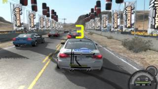 Need For Speed Pro Street DEMO [2007] gameplay on MSI GX 610 laptop / Radeon HD2600