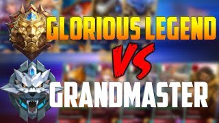 5 GLORIOUS LEGENDS vs. 5 GRANDMASTERS = CRYING! MOBILE LEGENDS HARLEY INSANE GL GAMEPLAY