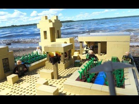 LEGO Minecraft Sand Village