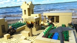 LEGO Minecraft Sand Village