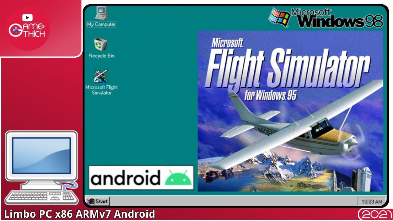 Microsoft Flight Simulator 95 Win 98 Lite Limbo PC x86 ...