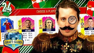 OMG HIGHEST RATED AUSTRIA HUNGARY FUT DRAFT CHALLENGE! DTG #24 FIFA 18 ULTIMATE TEAM