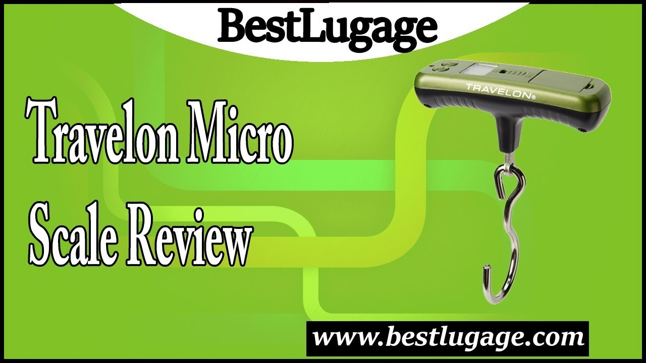 travelon micro scale review youtube On travelon micro scale