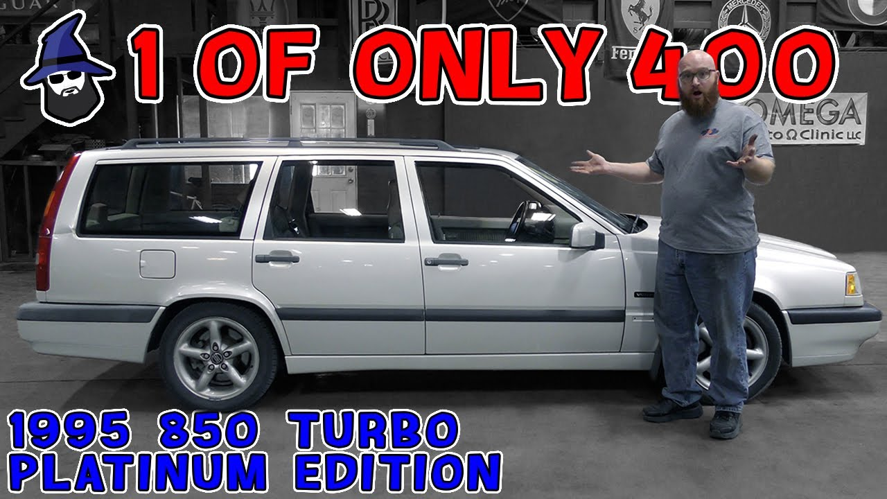 1 of 400 made! Platinum Edition 1996 Volvo 850 Turbo in the CAR WIZARD's shop, starring Bug Ninja