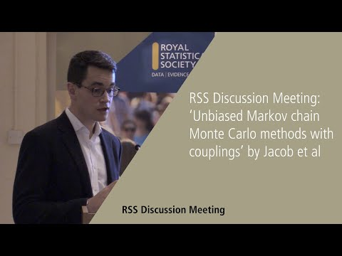 RSS Discussion Meeting: Unbiased Markov chain Monte Carlo methods with couplings