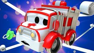 Автомойка Эвакуатора Тома - Малышка Эмбер хотела стать МУМИЕЙ, но ЗАПУТАЛАСЬ в БИНТАХ! - мультфильм