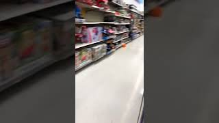 Scared my brother in Walmart 😂😂