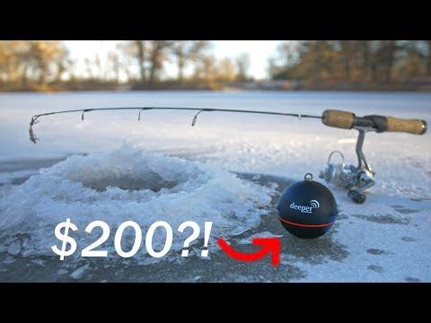 Ice Fishing a SMALL POND?! - Sonar vs. No Sonar (NEW PB!)