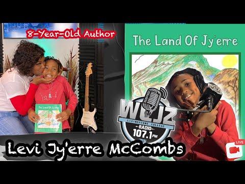 8-Year-Old Published Author  📖 Levi Jy'erre McCombs (LJ12)