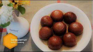 Easy Golap Jamun| রসে ভরা গোলাপজামুন |Bangladeshi/Indian Dessert Recipe with English Subtitle