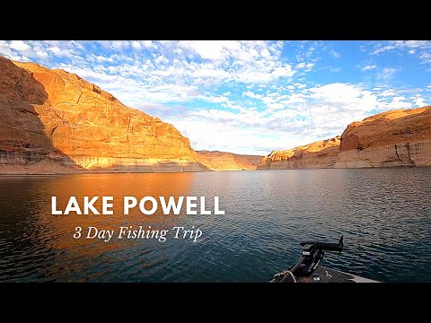 Fishing Lake Powell // 3 Day Fishing Trip