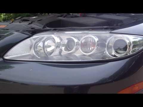 2005 Mazda 6   Engine & Lights