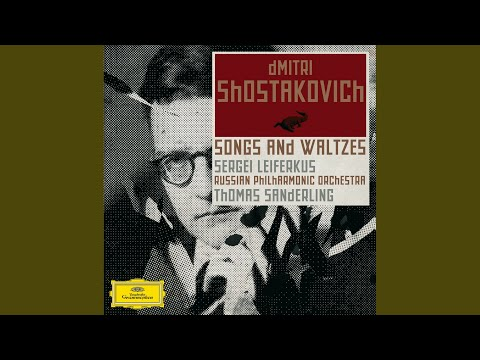 Shostakovich: Five Romances To Texts From