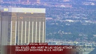 Shooter Spent Three Days In Vegas Hotel Room Before Shooting