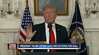 Trump will extend 'Dreamers' and TPS protection in exchange for full border wall funding
