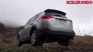 Toyota RAV 4 2013 Test Drive Acelerando(Esta es la 4ta generación de este SUV de la marca nipona que nos presenta una serie de mejorías con respecto a su versión anterior, así como tambien ..., 2013-04-02T21:53:49.000Z)