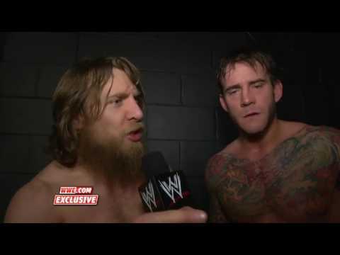 Renee Young Interviews Daniel Bryan and CM Punk after Survivor Series 2013