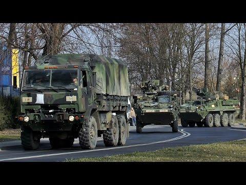 Amerykańskie wojsko wyjeżdża z Lublina - 25.03.15 r.