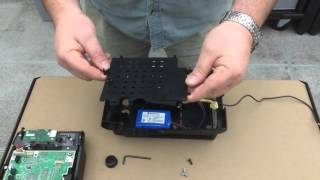 Kronos InTouch Clock Assembly