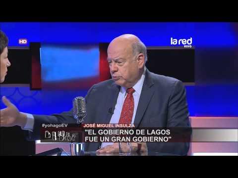 José Miguel Insulza habla sobre el gobierno de Ricardo Lagos