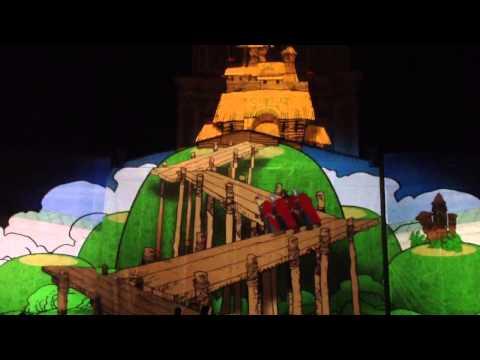 Kijevo Rusios krikštas in 3D, Kijevas (2013 05 25 d.)