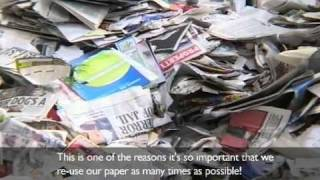 Following the paper trail - Paper Recycling