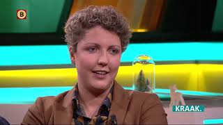 Michelle en Steffi van Boer Zoekt Vrouw te gast bij KRAAK.