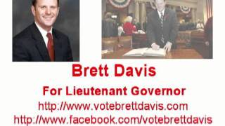Brett Davis for Lieutenant Governor: Radio Ad #2