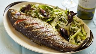Adam Mead's Baked Trout