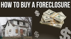 How to Buy a Foreclosure Home to live in - [HUD or Traditional]
