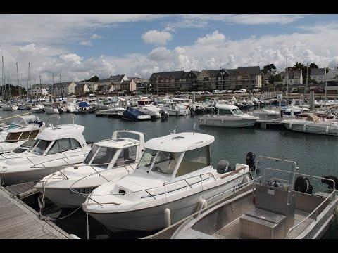 Etel en drone - Bretagne vidéo