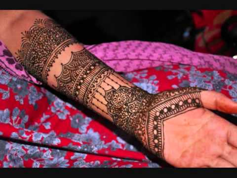 Indian Bridal Henna Design In Time Lapse Youtube