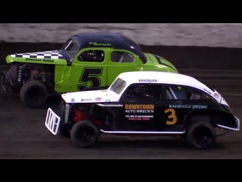 Bakersfield Speedway Heat Races 9-3-16