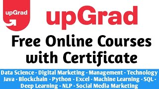 Upgrad Launches 35+ Free Courses With Certificate (Courses Worth Lakhs Now FREE) screenshot 4