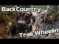 Backcountry trail wheelin Toyota and Suzuki Buggys rock crawling